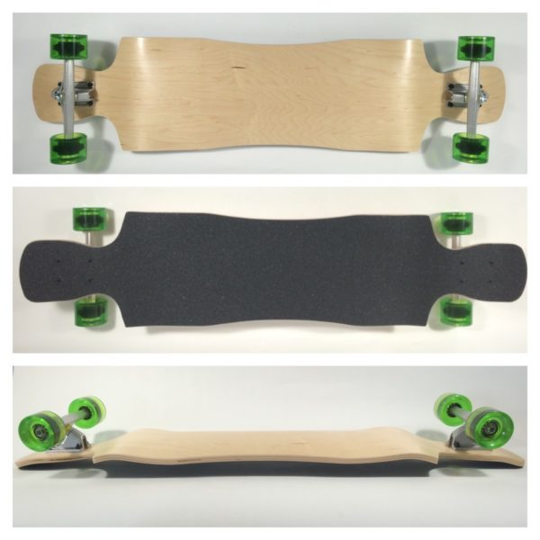 Fun Box Skateboards Crystal Longboard