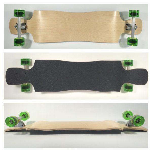 Fun Box Skateboards Crystal Longboard
