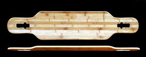 Fun Box NS Bamboo Drop Longboard