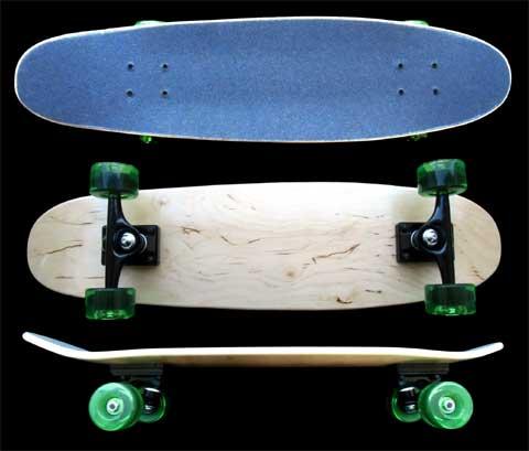 Fun Box Skateboards Maple Nickel Cruiser Complete