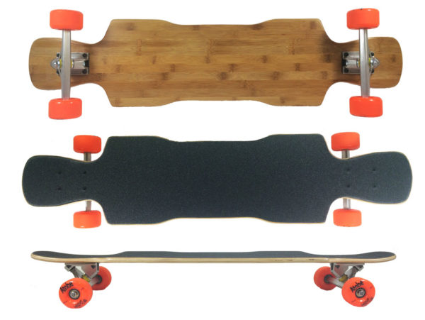 Fun Box Skateboards Bamboo Raven Complete Longboard
