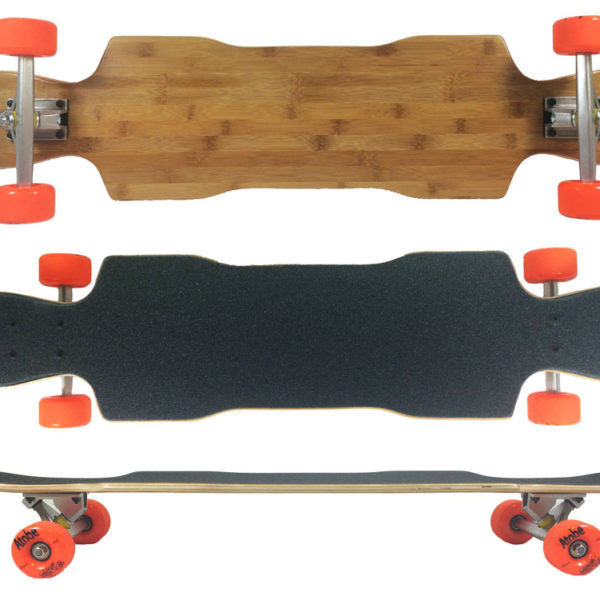 Fun Box Skateboards Bamboo Raven Complete Longboard