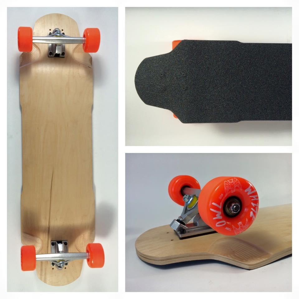 Fun Box Skateboards V2 Brick Complete Freeride Longboard