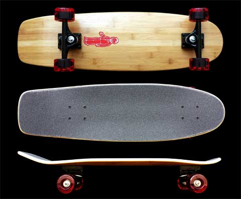 Fun Box Skateboards bamboo squaretail complete