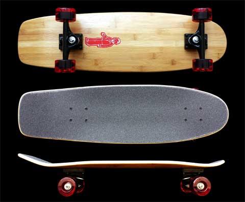 Fun Box Skateboards bamboo squaretail complete