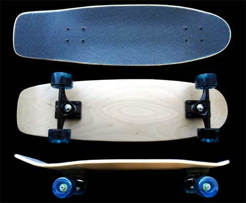 Fun Box Skateboards Square Tail Complete