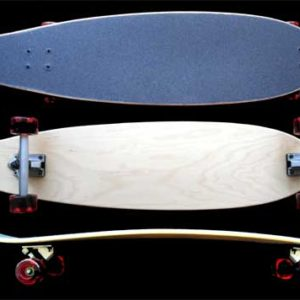 Fun Box Camber kick Cruiser Skateboard