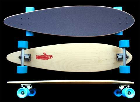 Fun Box Maple Pintail Longboard