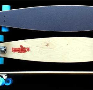 "Fun Box 47"" Maple Pintail Longboard"