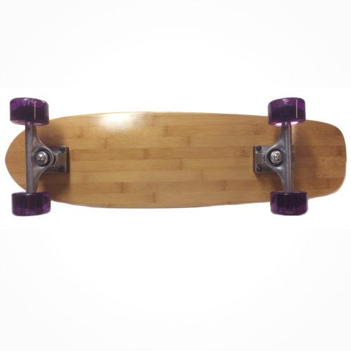 Fun Box Throw Back bamboo cruiser Complete skateboard