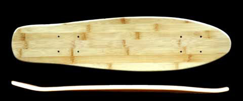 Fun Box Skateboards Bamboo Penny Killer Deck