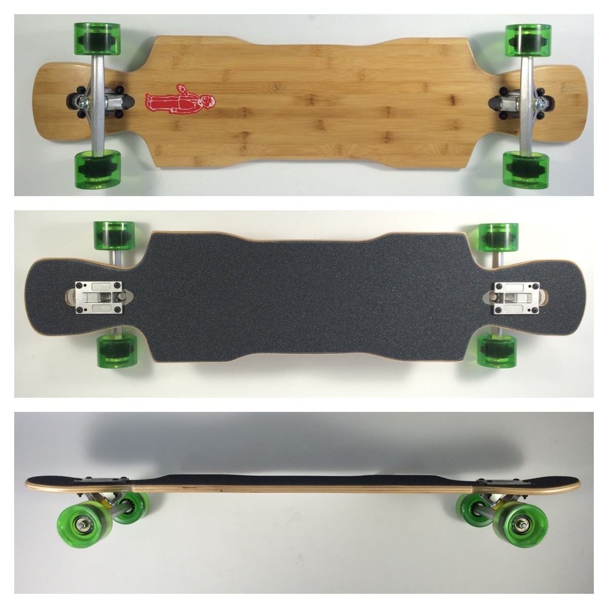 Fun Box Skateboards Bamboo Kray Complete Longboard