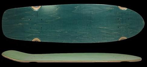 Fun Box Skateboards Retro Cruiser Deck