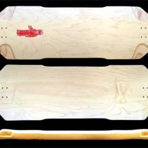 FuncBox Skateboards V2 Brick Longboard Deck