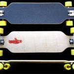 Fun Box Skateboards NS Maple Drop Through Longboard