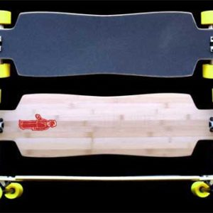 Fun Box Skateboards OG 42 Bamboo DropThrough Longboard