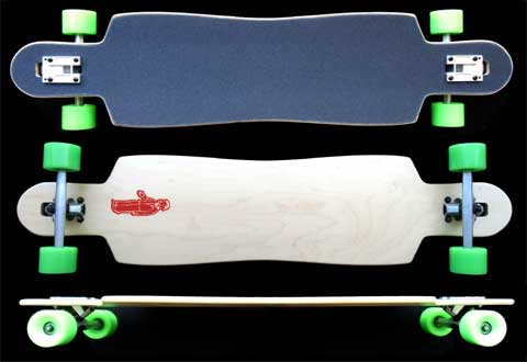 Fun Box Skateboards OG 42 Maple Drop Through Longboard
