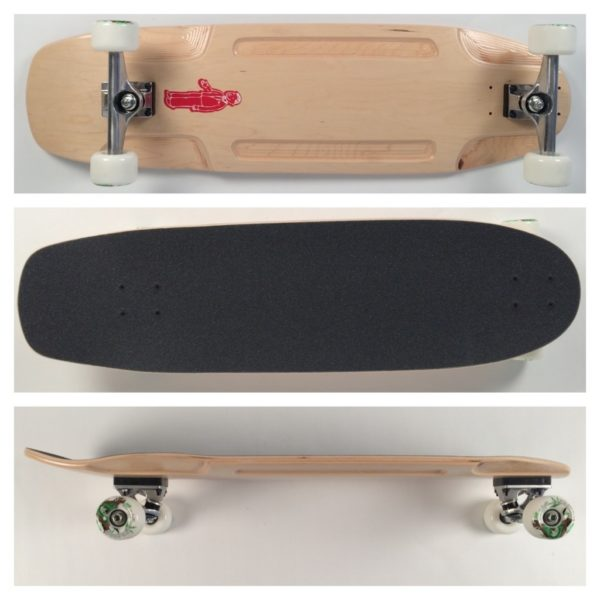"FunBox Distribution 34"" Slide Longboard Skateboard"