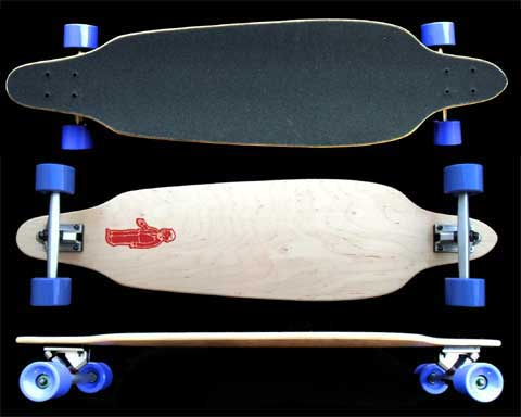 Fun Box Skateboards Freeride Longboard