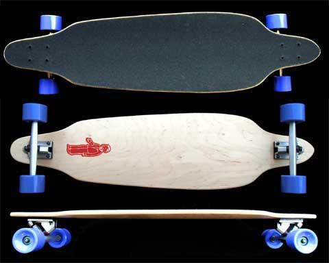 Fun Box Skateboards Freeride Longboard