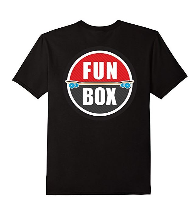 Fun Box Logo T Shirt Back