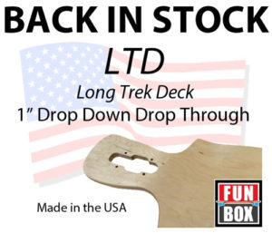 Fun Box Skateboards LTD Long Trek Deck