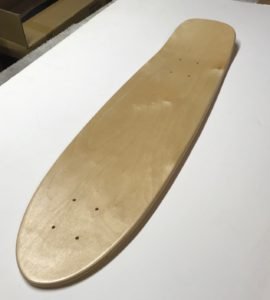 FunBox Skateboards Retro Cruiser Deck